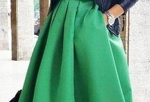 Moda de faldas