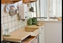 Vintage meubels, keuken Piet Zwart