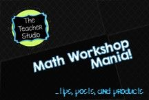Math Workshop and Math Centers / A collection of photos, blog posts, products, and freebies that help create a high powered, constructivist math workshop or guided math experience! Find everything from assessment to fractions to problem solving to geometry to differentiation and more! Games, lesson ideas, blog posts, projects, math misconceptions--all in the name of improving math instruction and student learning in math workshop, math stations, or guided math.