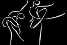 Desenhos de silhuetas