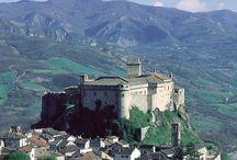 Medieval Castles and gardens in Parma / I bellissimi giardini dell'Emilia Romagna e i magnifici castelli del Ducato di Parma e Piacenza