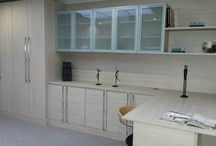 Study designs / Fitted study furniture