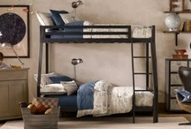 Boy industrial aviation bedroom / by Stephanie Thompson