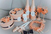 Свадьба оранжево-апельсиновая