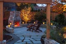 Backyard patio ideas / by Stephanie Brown Fagnant