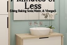 Cleaning tips / by Dani Miller Silvernail