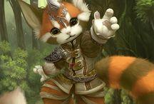 Cute fantasy character