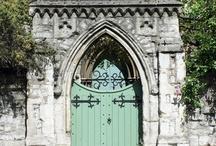 Doors~Entryways / by Sara Burns