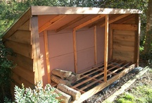 Inspiration | Firewood storage / by Janet Wolbarst