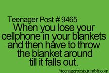 Teenager posts / These are so relatable