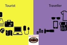 Turista / Mi a különbség a turista és az utazó között....