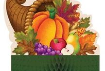 Thanksgiving Party Decorations and Ideas / Happy Thanksgiving! Celebrate Thanksgiving in style with Thanksgiving Party Decorations. We searched through the most interesting Thanksgiving party ideas and added some of our favorite Thanksgiving Party Decorations as well.