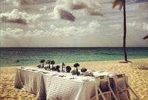 Beach Weddings / Inspiration for those going for a Beach wedding feel.