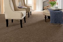 Cordova - Artisan Collection / A random geometric cut and loop pattern from Tuftex Carpets of California.