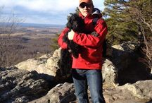 Licks, Feathers, Scales, Fur and More! / Love my Portuguese Water Dogs and my African Gray Parrot - Travis McGee. Love all animals.