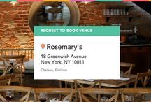 Rosemary's on ExpressBook / Book this experience: Ladies who Lunch at Rosemary's in the Communal Table - Visit: https://venuebook.com/venue/964/rosemarys/ / by VenueBook