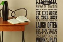 WORD ART Wall Decals
