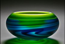 Glass Art / Beautiful hand blown glass. Works of art. Decorative ideas for the home. / by Real Impressions Photography
