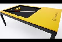 Fusiontables.com / Pool table / dining table from the Belgian producer
