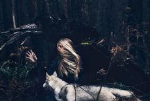wolf & i / and you are the wolf  and i am the moon