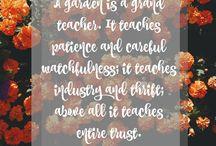 Garden Quotes I Love