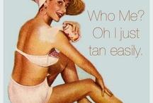 Tan-Spiration / by Sundays Blue Box Tanning Resort
