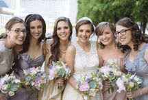 It's My Bridal Party / Great pictures of beautiful bridal parties with bouquets