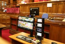 Cameras in courts / Live television broadcasting from the Court of Appeal began on the 31st October 2013
