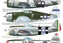 P-47 thunderbolt painting schemes