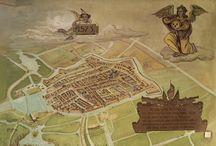 1573: het beleg van Alkmaar / Prenten en kaarten van het beleg van Alkmaar in 1573.