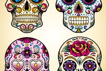 mexican day of the dead art