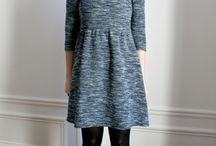 femme look #robe hiver