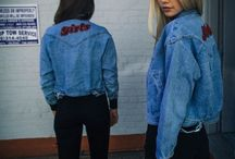 The denim jacket rocks