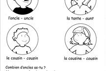 French - Vocab (Family) / by Jenn Campanella