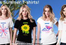 Kekeye Summer Ladies T-shirts / Summer, Sommer Shirts - exclusive Designs..., Ladies, enjoy it!