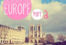 Backpacking Europe♡ / by Courtney Cabral