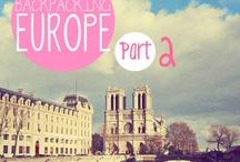 Backpacking Europe♡