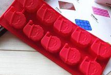 Formas e moldes de silicone