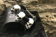skulls for road bracelet