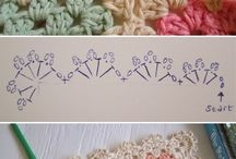 Puntas acabados crochet