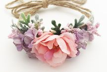 Baby crown and headband
