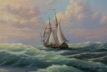Море / картины художников