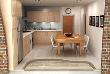 Electric infloor heating installation / To discover how Warmup electric underfloor heating systems work.
