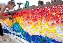 reciclo bottiglie plastica