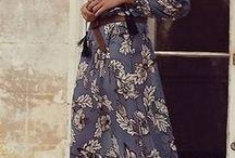 vestidos hipie