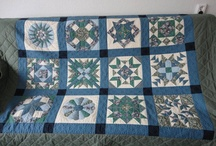 Quilting, stitching, embroidery