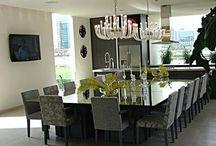 Cozinhas e Salas de jantar...
