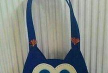 keçe çanta
