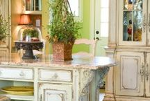 Love the color green! / Decorating with green. / by Sandy Dorda