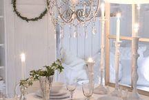 Borddekking òg dekorasjoner